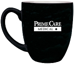 16 oz. Black Ceramic Bistro LazerMug