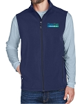 Ash City Core 365 Men's Cruise Two-Layer Fleece Bonded Soft Shell Vest
