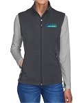 Ash City Core 365 Ladies' Cruise Two-Layer Fleece Bonded Soft Shell Vest