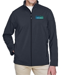 Ash City Core 365 Men's Cruise Two-Layer Fleece Bonded Soft Shell Jacket