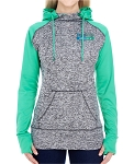 J America Ladies' Colorblock Cosmic Pullover Hood