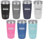 Polar Camel 20 oz. Ringneck Insulated Travel Mug w/ Clear Lid