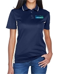 UltraClub Ladies' Cool & Dry Sport Two-Tone Polo